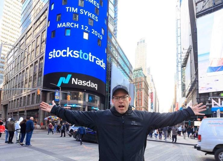 BIG day trading risk is not using the right tools. Tim Sykes at Nasdaq closing bell StocksToTrade