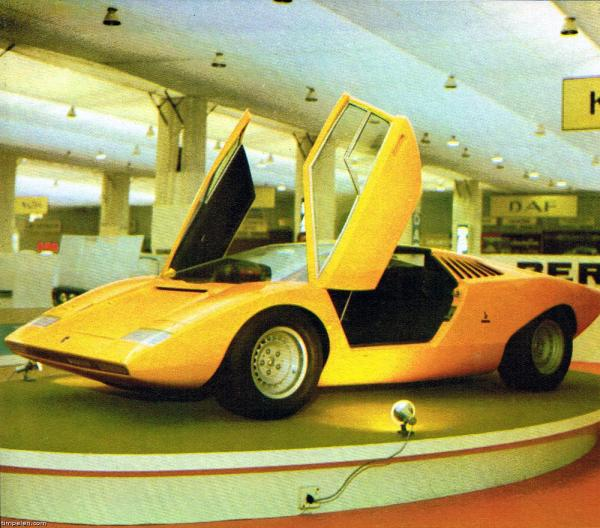 Lamborghini Countach Lp500 Prototype Scans 1971 74 Year Of Clean Water