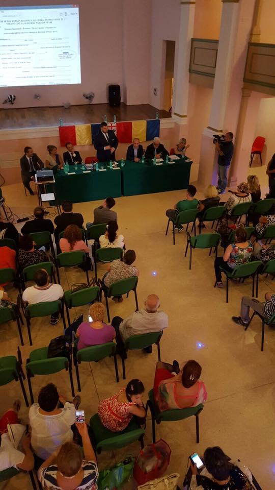 vizita ministrului Dan Stoenescu în Italia, iunie 2016 - sursa foto: Facebook