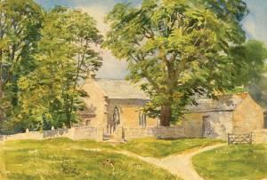 1716-Kirkeharle-St-Wilfred's-Church,-Northumberland-wc36x54