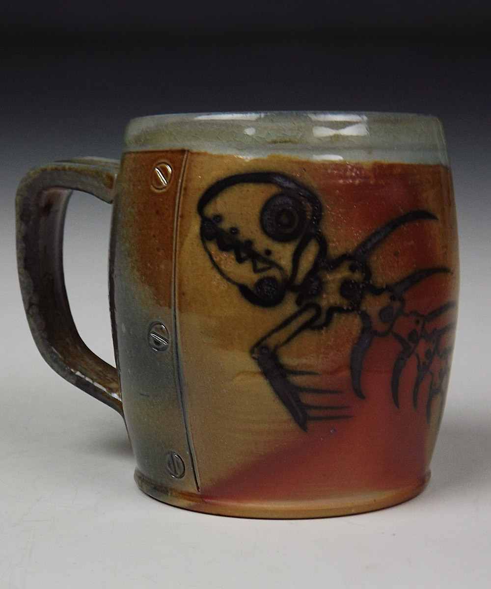 Mechincal Fish Bone Mug