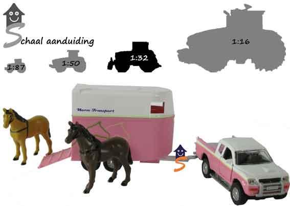 speelgoed paarden trailers