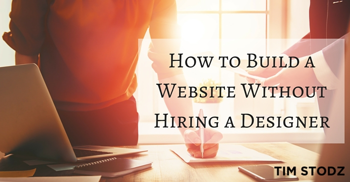 How to Build a Website Without Hiring a Designer