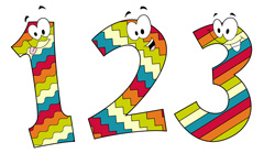 1-2-3 numbers