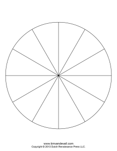 piece pie chart template also blank templates make  rh timvandevall