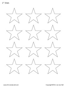 printable 2 inch star template pdf