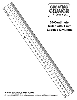 Printable Paper Rulers In Inches