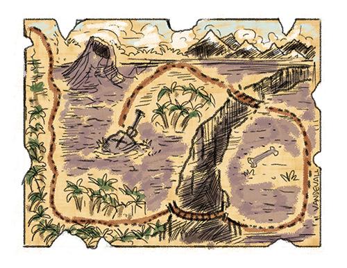 treasure maps for kids