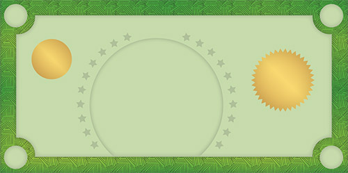 Play Money Template for Kids