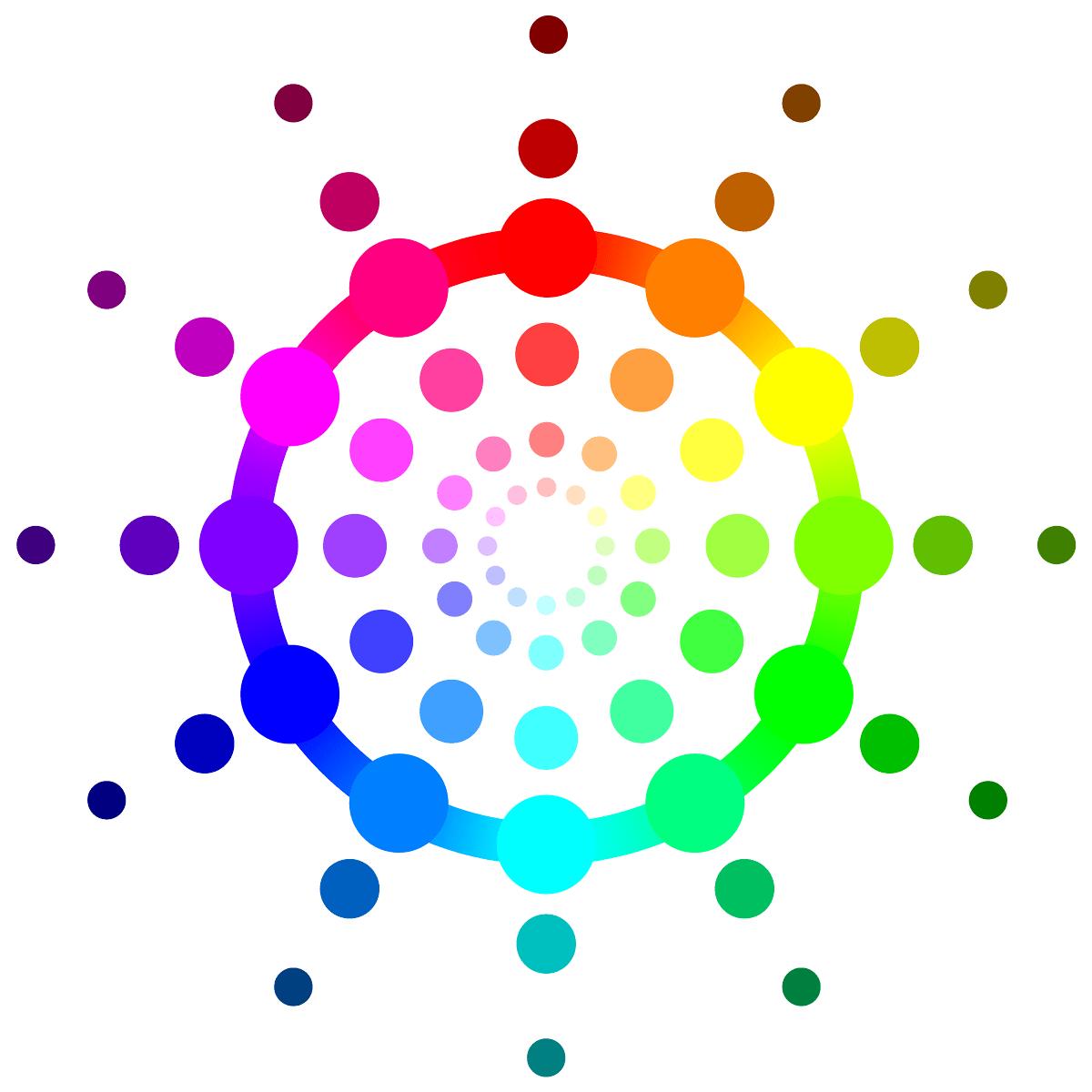 Rgb Color Wheel Hex Values Printable Blank Color Wheel Templates