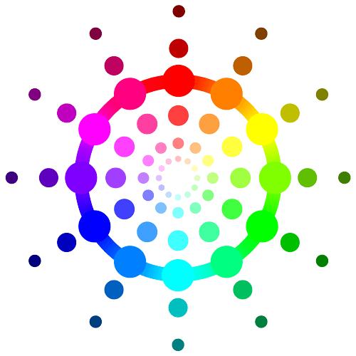 RGB Color Wheel Circle