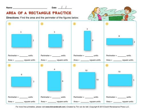 small resolution of Area Worksheet For 4th Grade   Printable Worksheets and Activities for  Teachers