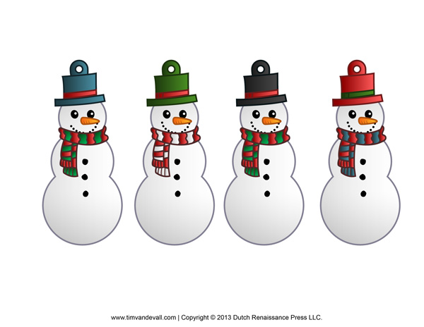 Snowman Decorations for Christmas