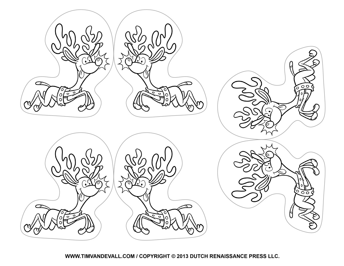 Search Results For Reindeer Face Stencil Printable