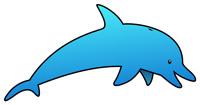 Free Dolphin Clip art