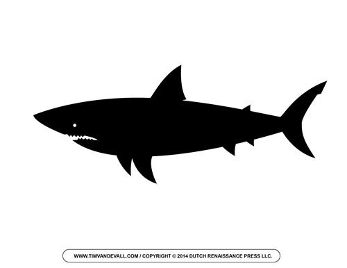 Shark Silhouette Clipart