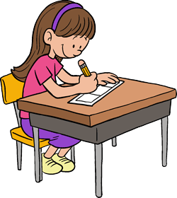 Girl Drawing Comic Strip