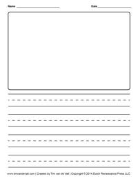 Creative Writing Printable