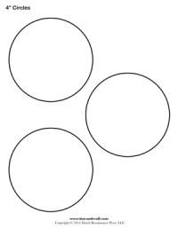 Circle printable