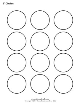 printable circle label templates