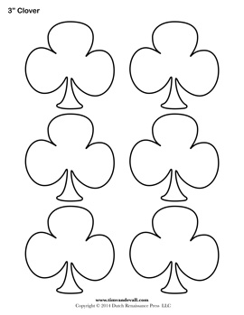 Printable CloverTemplates