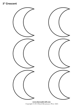 """Search Results for """"Crescent Moon Outline"""""""