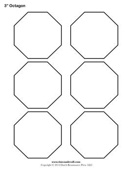 Printable OctagonTemplates
