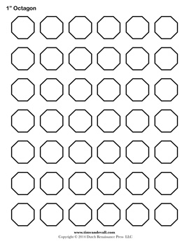 Blank Octagon Template