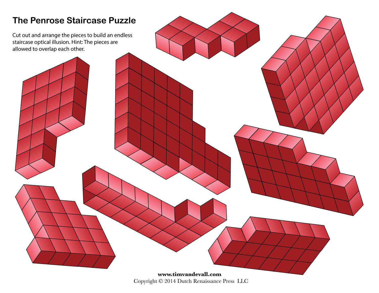 Penrose Stairs Endless Staircase