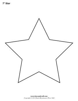 Free Printable Star