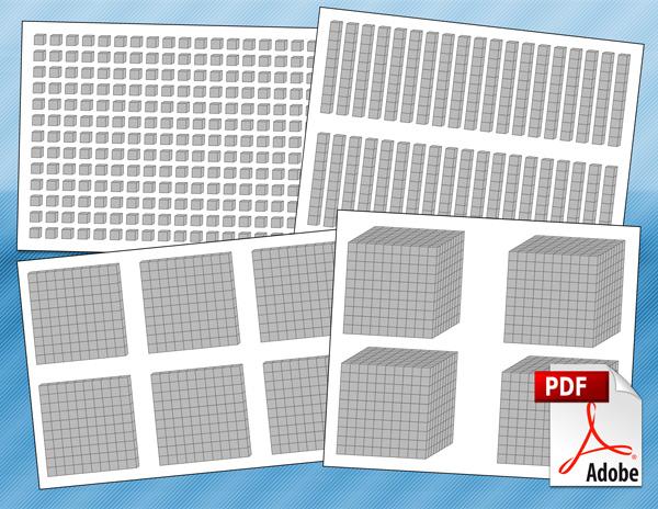 Place Value Blocks PDF
