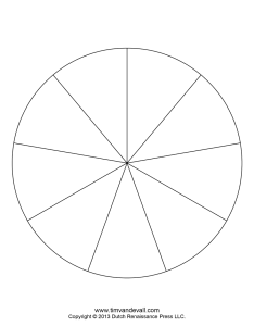 divisions template also blank pie chart templates make  rh timvandevall