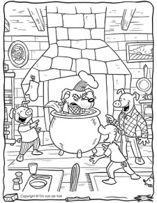Big-Bad-Wolf-in-Cauldron-Coloring-Page-350