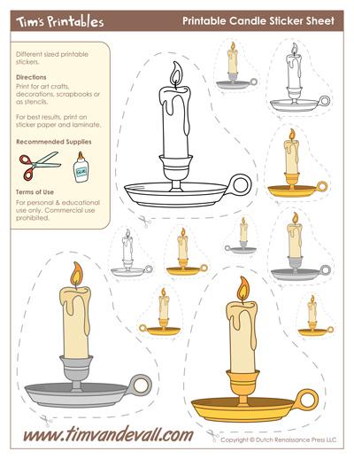 candle shapes