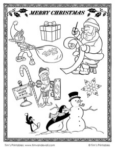 Christmas Cut Outs 2