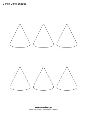 Cone shapes for kids