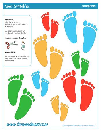 footprint templates