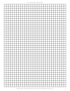 Graph Paper Template 85x11 Letter