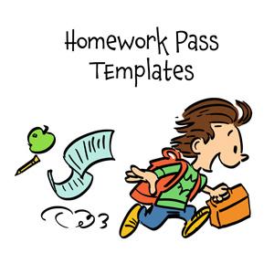 Homework pass clip art how to write an evaluation for child development