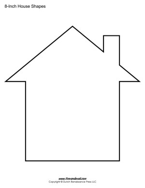 Current image inside house template printable