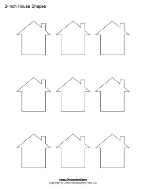 house shapes for kids