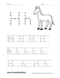 Letter H Worksheets For Preschoolers - letter h worksheet ...