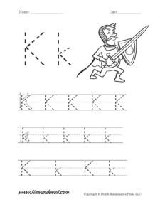 Letter-K-Worksheet-01