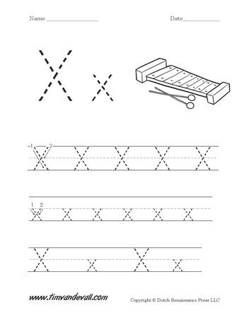 letter x worksheet tim 39 s printables. Black Bedroom Furniture Sets. Home Design Ideas