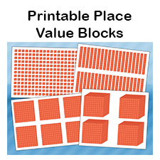 It is an image of Sly Place Value Blocks Printable