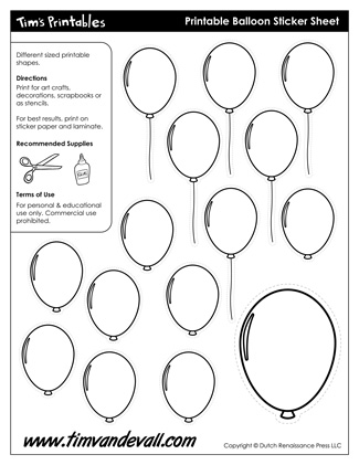 Balloon Templates