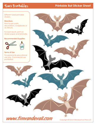 halloween bat templates