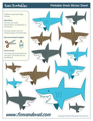 shark templates