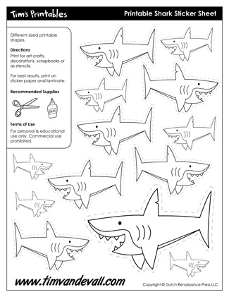 Shark Shapes