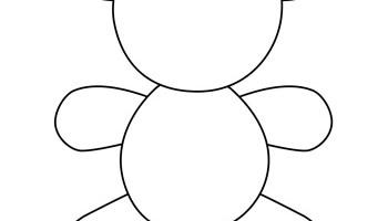 teddy bear templates tim s printables